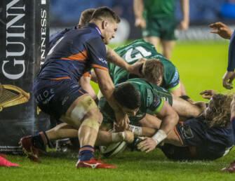 O'Halloran Brace Not Enough For Connacht As Edinburgh Finish Strongly