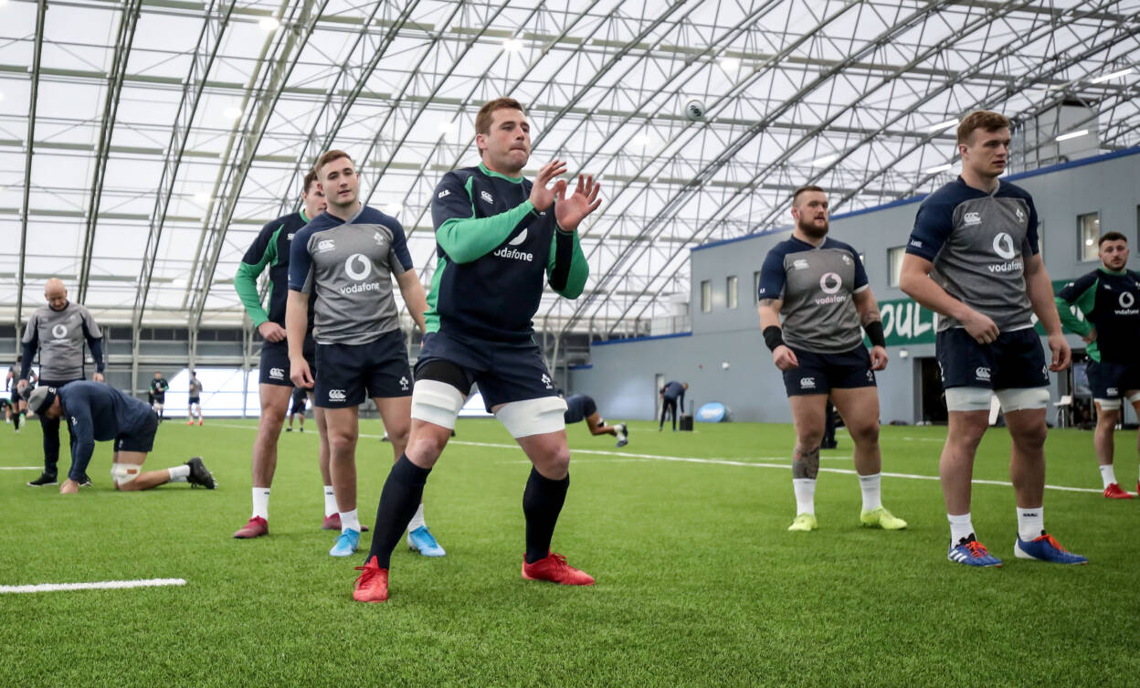 Ireland Rugby Squad Training, IRFU High Performance Centre, Sport Ireland Campus, Blanchardstown, Dublin 30/1/2020 CJ Stander Mandatory Credit ©INPHO/Dan Sheridan