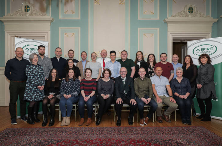 IRFU Spirit of Rugby Leadership Programme Graduation