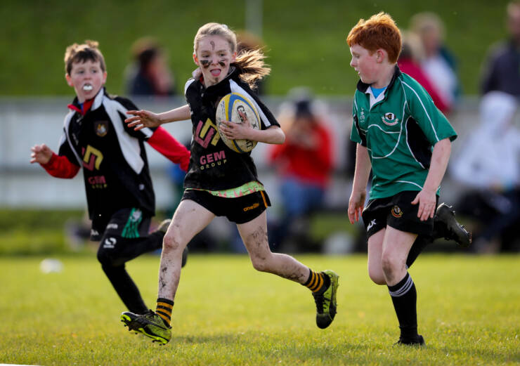 Aviva Minis Rugby Skills Games