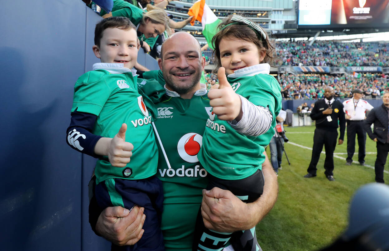 Rory Best is one of several Irish rugby stars to send a message of support to the staff of the National Maternity Hospital and all those working so hard to protect us. Mandatory Credit ©INPHO/Dan Sheridan
