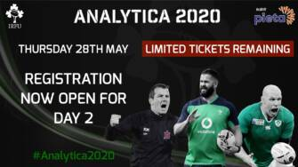 IRFU Analytica 2020 Webinar – Day 2: First Panels Revealed