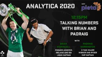 Brian O'Driscoll & Padraig Harrington Added to IRFU #Analytica2020 Day 2 Line-up