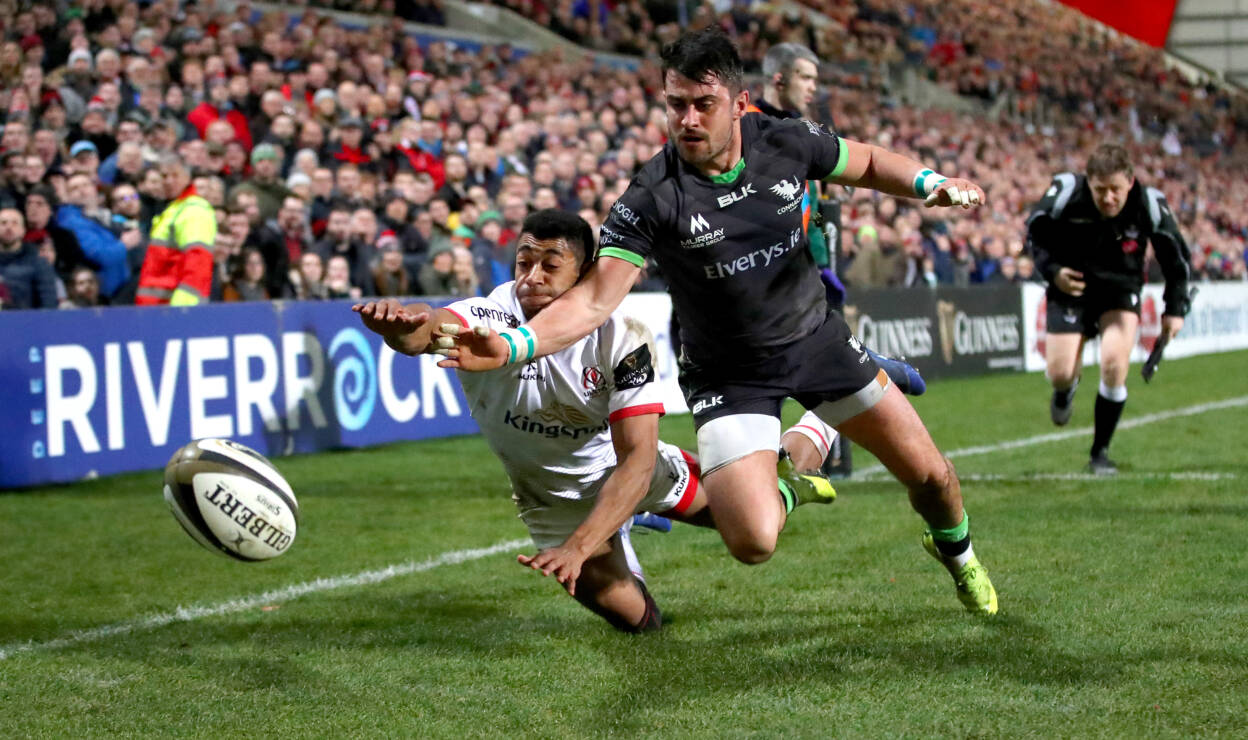 Action from Ulster against Connacht