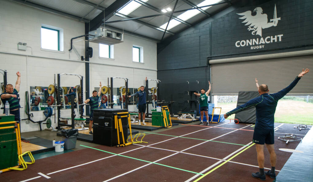 Connacht Players Return To Rugby