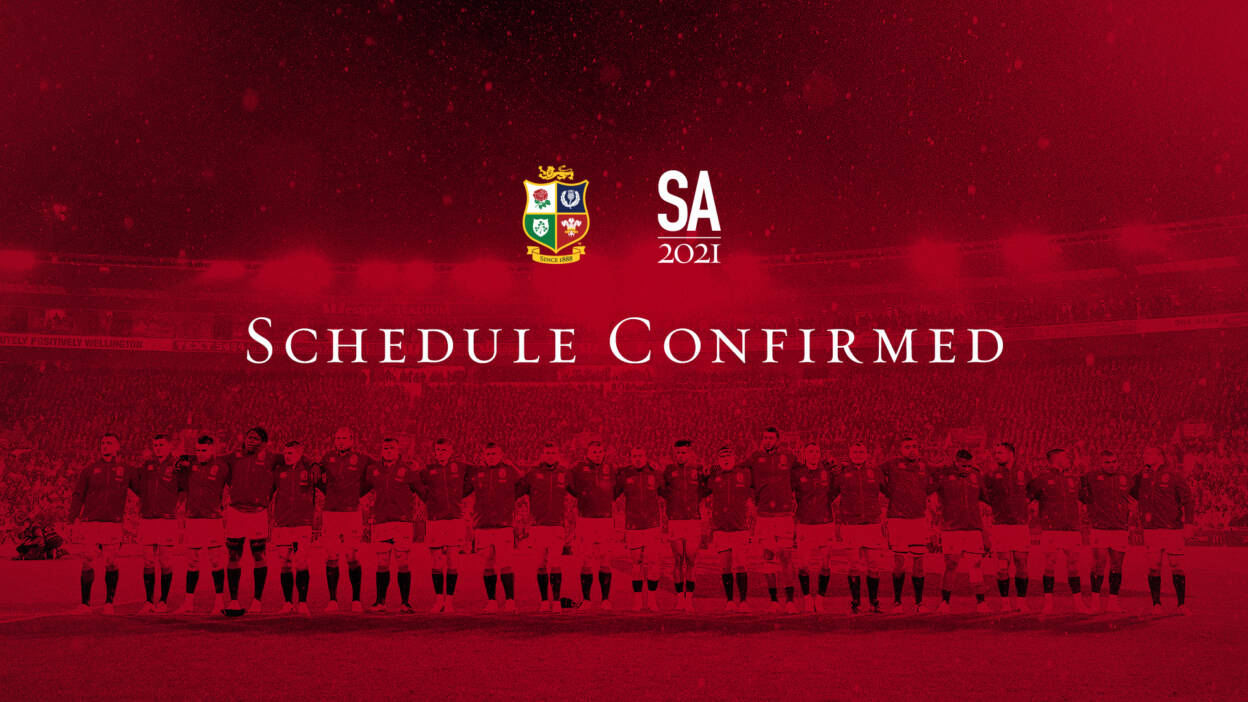 British & Irish Lions Schedule Confirmed