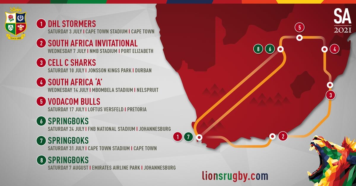 British & Irish Lions And South Africa Rugby Announce Joint Venture