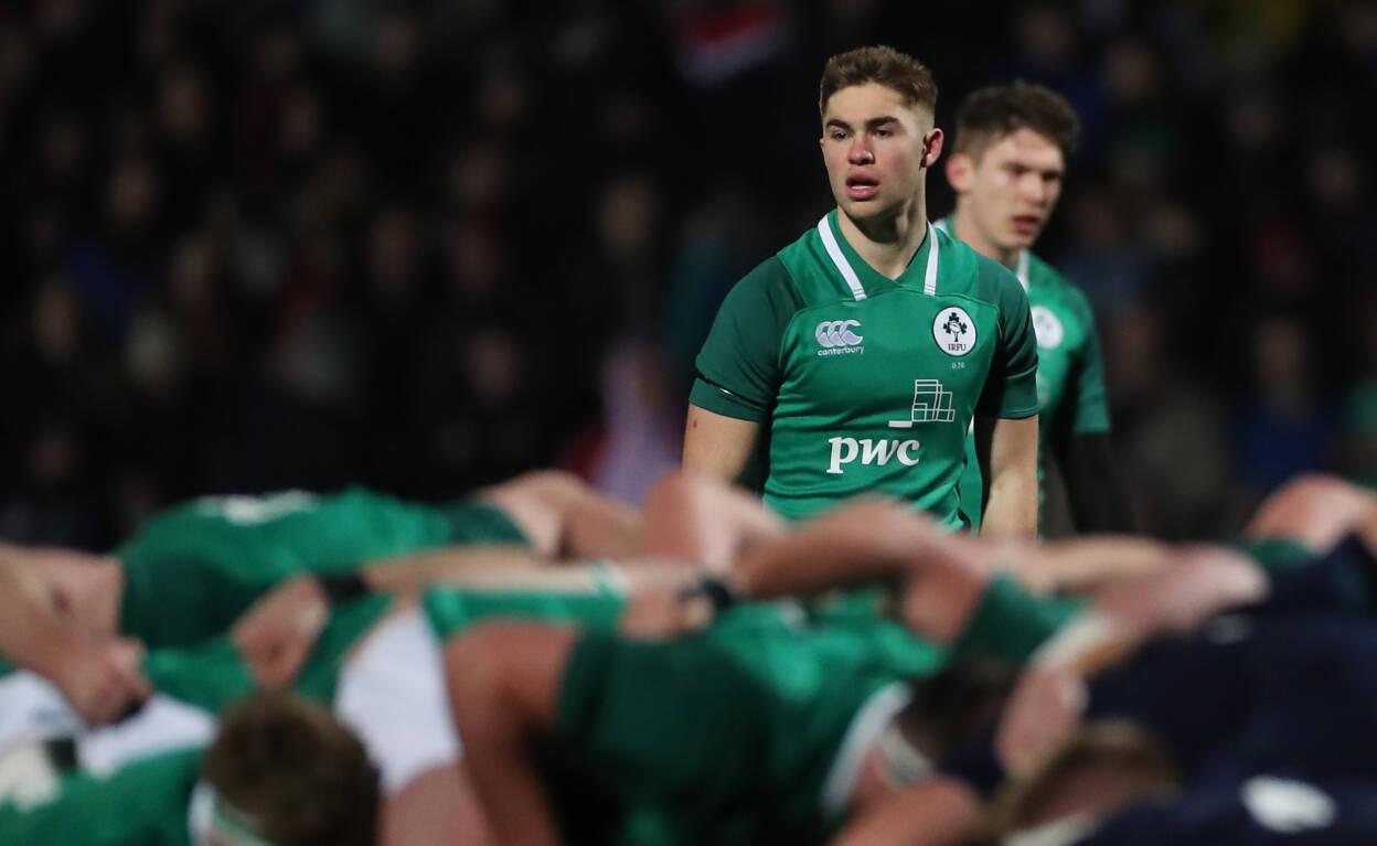 Van Graan Impressed By Ireland Under-20 Stars Ahern And Crowley