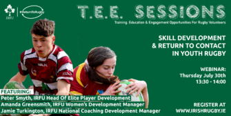 Youth & Age-Grade #ReturnToRugby Webinar: Skill Development And Return To Contact