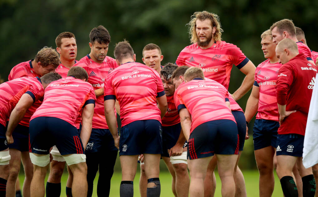Leinster And Munster Squads Step Up Training Ahead Of Pro14 Inter-Pros