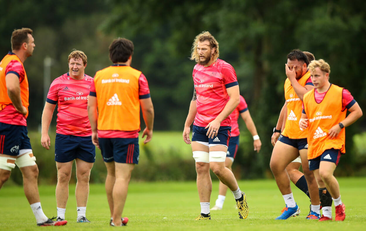Snyman Excited To Make A Big Impact At 'Tradition-Rich' Munster