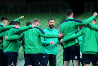 Player Welfare At The Heart Of Irish Rugby – Andy Farrell