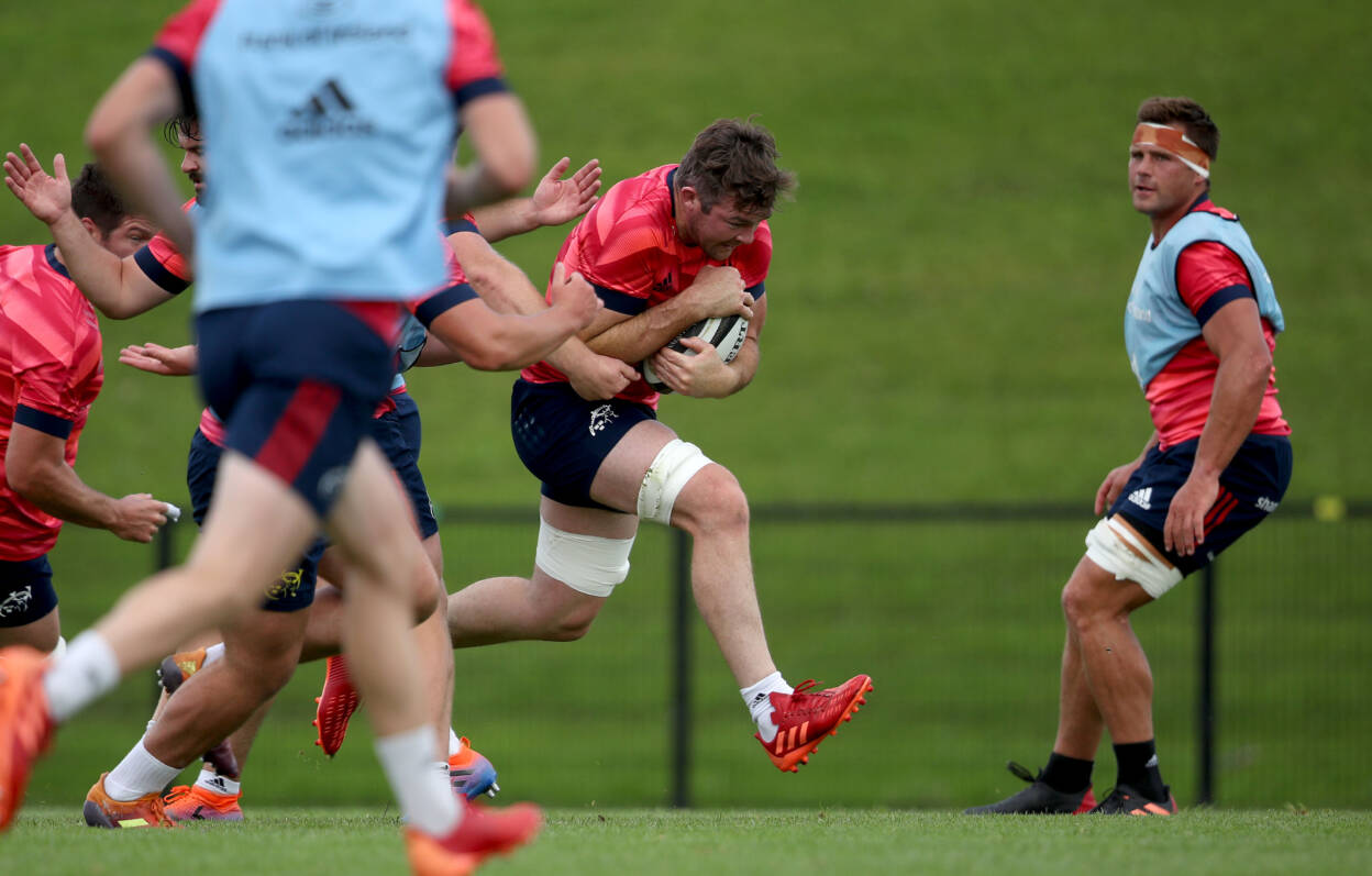 O'Mahony Ready To Pull On The Munster Jersey Again