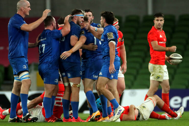 Doris Catches The Eye As Leinster End Munster's Challenge