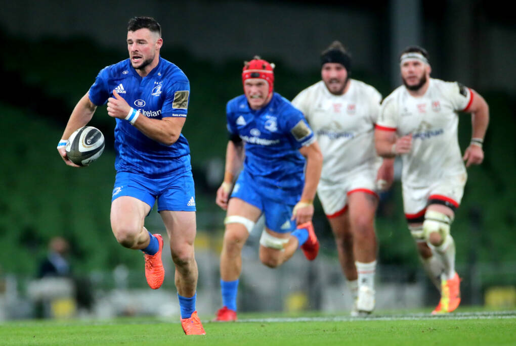 All-Irish Final Ends In Three-Try Leinster Triumph