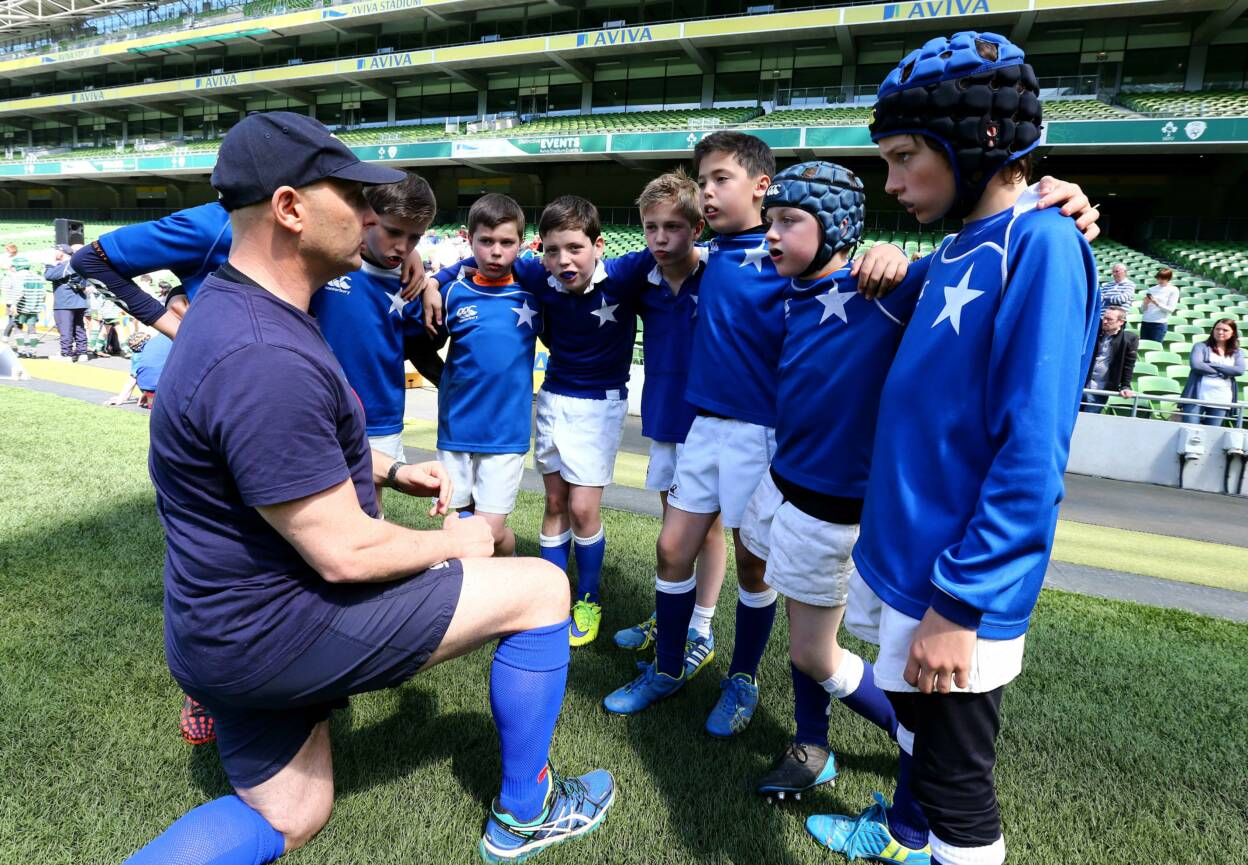 The IRFU takes a player-centred approach to rugby, especially in the areas of youth coaching and coach education programmes