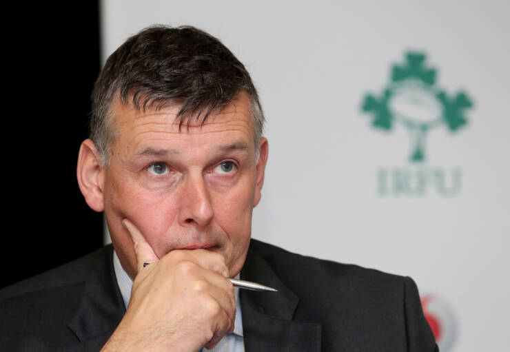 Philip Browne Sounds Warning On Rugby Finances