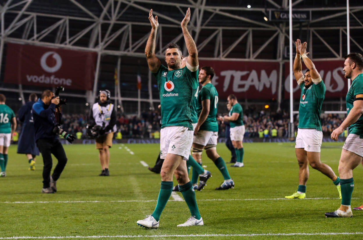 Open Letter To Supporters From Rob Kearney
