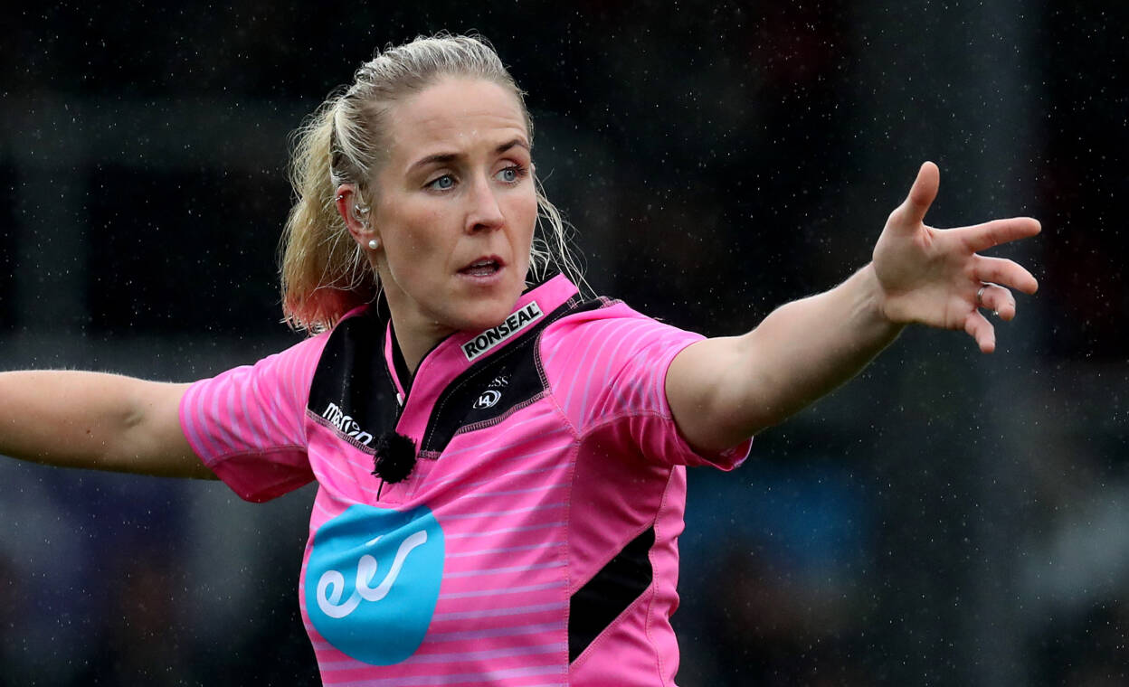 Joy Neville To Make Officiating History In Autumn Nations Cup