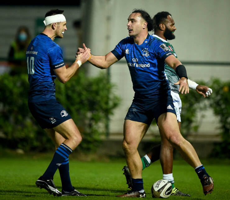 Cullen Concern For Larmour After Leinster Pass Treviso Test