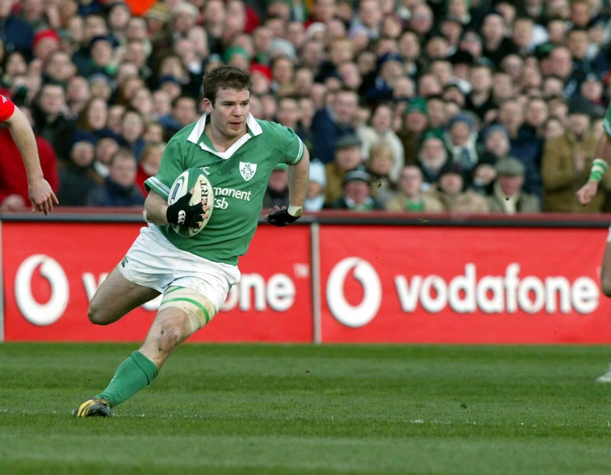 RBS Six Nations Ireland 22/2/2004 Gordon D'Arcy Mandatory Credit ©INPHO/Andrew Paton