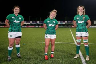Women's 6 Nations: Ireland 21 Italy 7