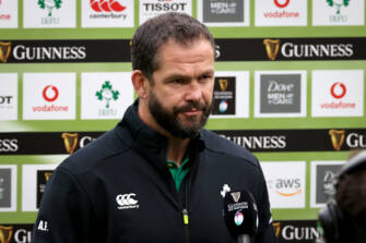 Andy Farrell Reflects On Ireland's Six Nations Return
