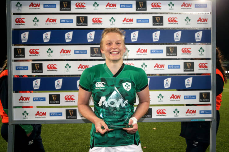 Molloy's Player-Of-The-Match Performance Helps Steer Ireland Home