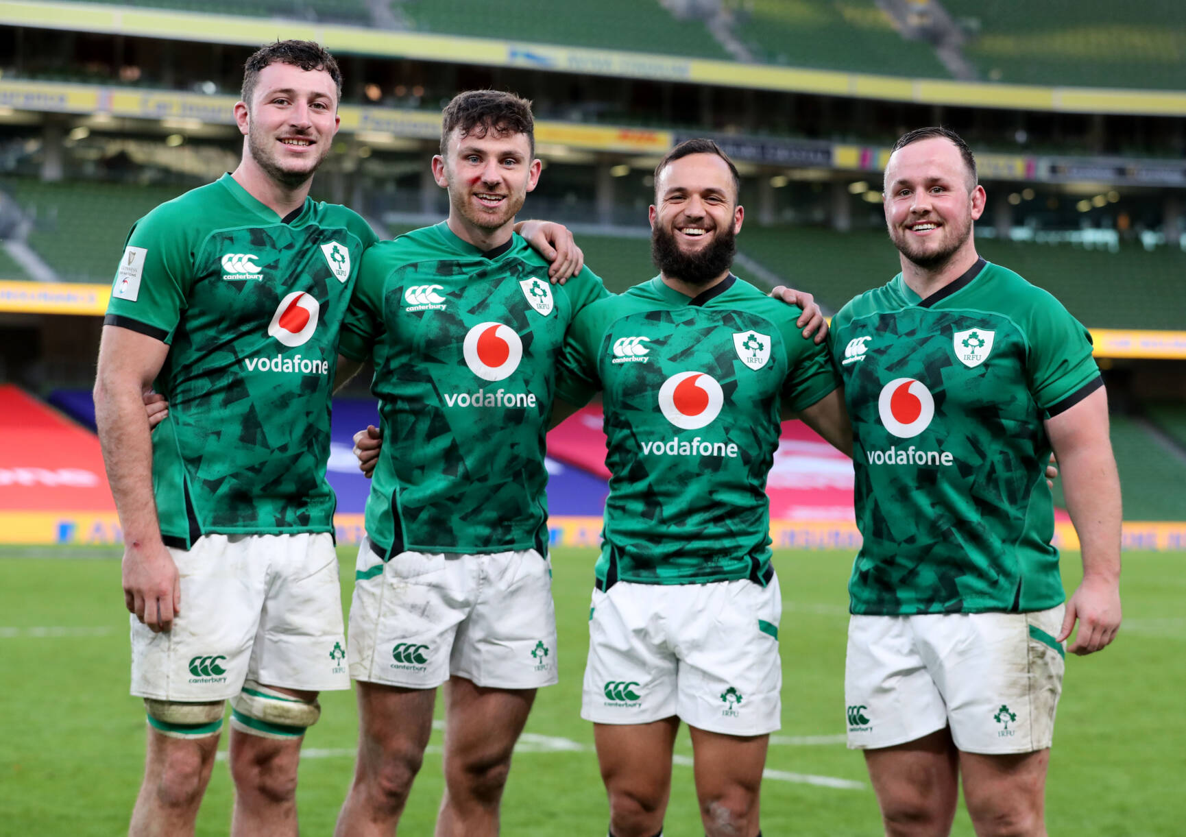 Debutants Have Desired Impact As Ireland Run In Seven Tries