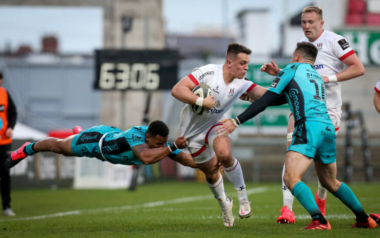 Flying First Half Gets The Job Done For Unbeaten Ulster