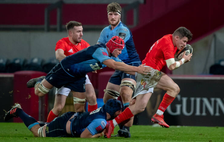 Munster Produce Some Monday Night Magic To Beat Blues