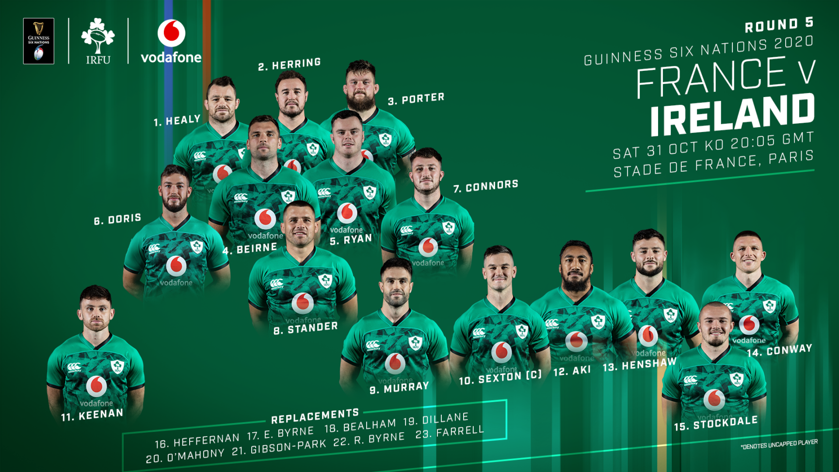 Guinness Six Nations: France v Ireland As It Happened