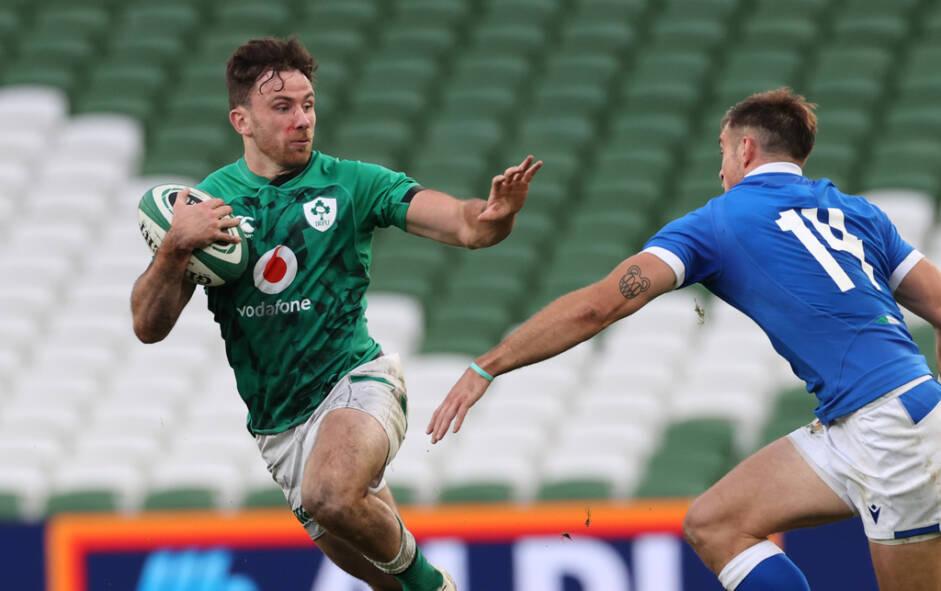 Irish Rugby | Hugo Keenan