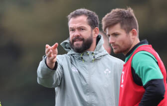 Andy Farrell Team Announcement Press Conference