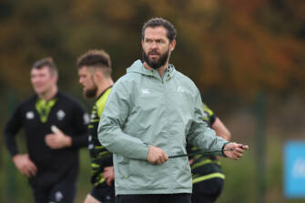 Team Announcement Press Conference With Andy Farrell
