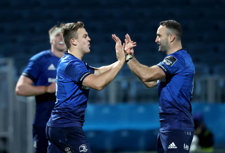 Six-Try Leinster Break Down Dogged Cardiff Defence