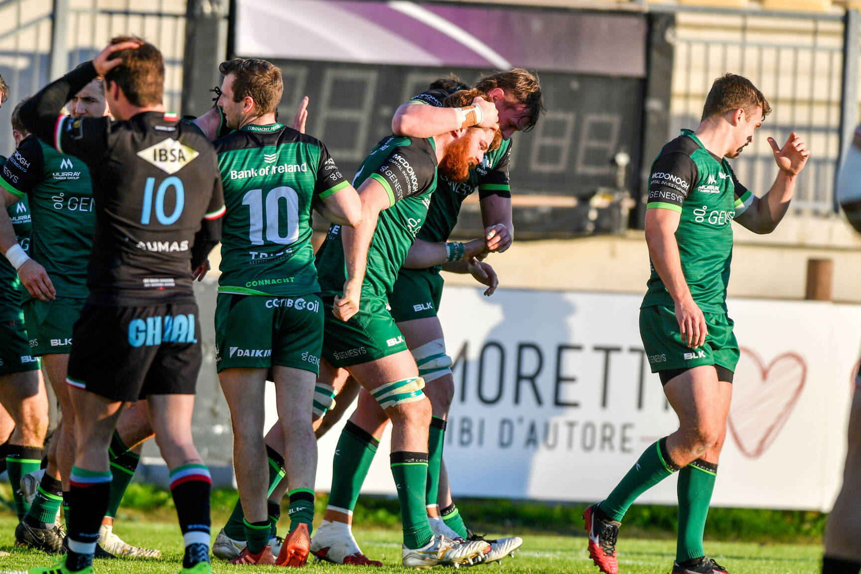 O'Brien Enjoys Try-Scoring Return As Connacht Bounce Back