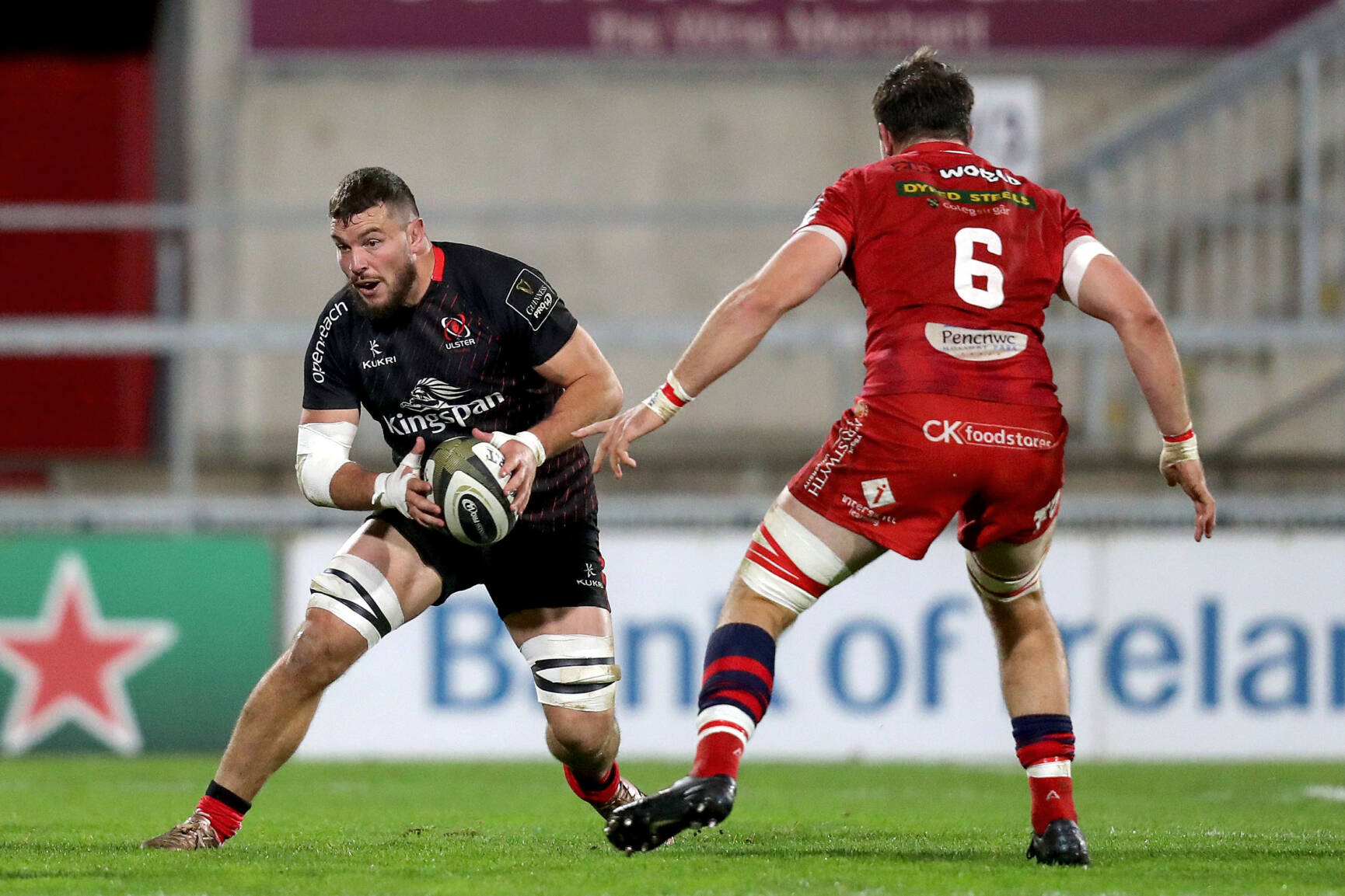 Ulster Squeeze Past Scarlets In Eight-Try Thriller
