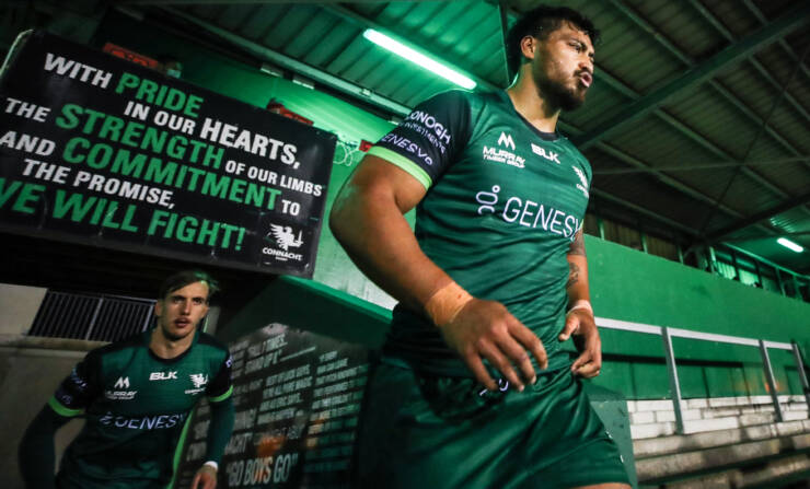 Connacht's Papali'i Receives Five-Week Ban