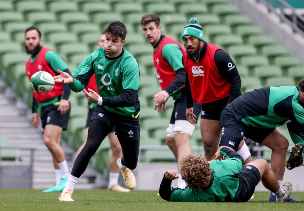 Ireland Captain's Run At Aviva Stadium