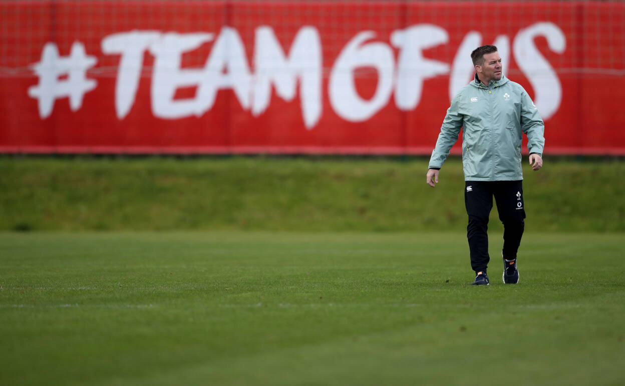 Fogarty Wants To See 'Calm And Controlled' Ireland Take Charge