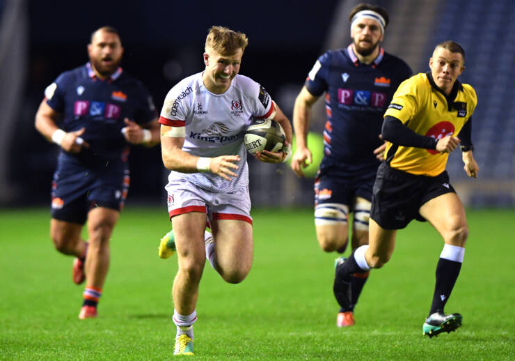 Andrew Hat-Trick Crowns Resounding Win For Ulster