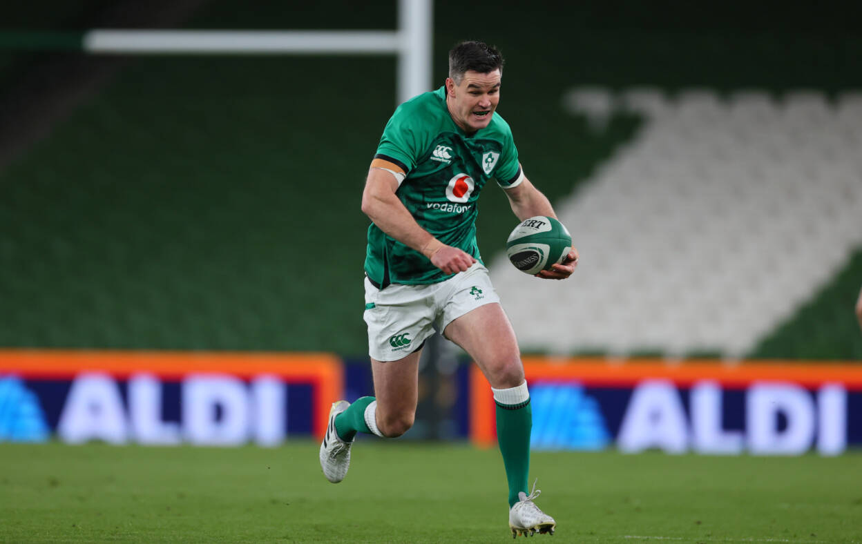 Irish Rugby Sexton Determined To Spark Full 80 Minute Performance Against Scots