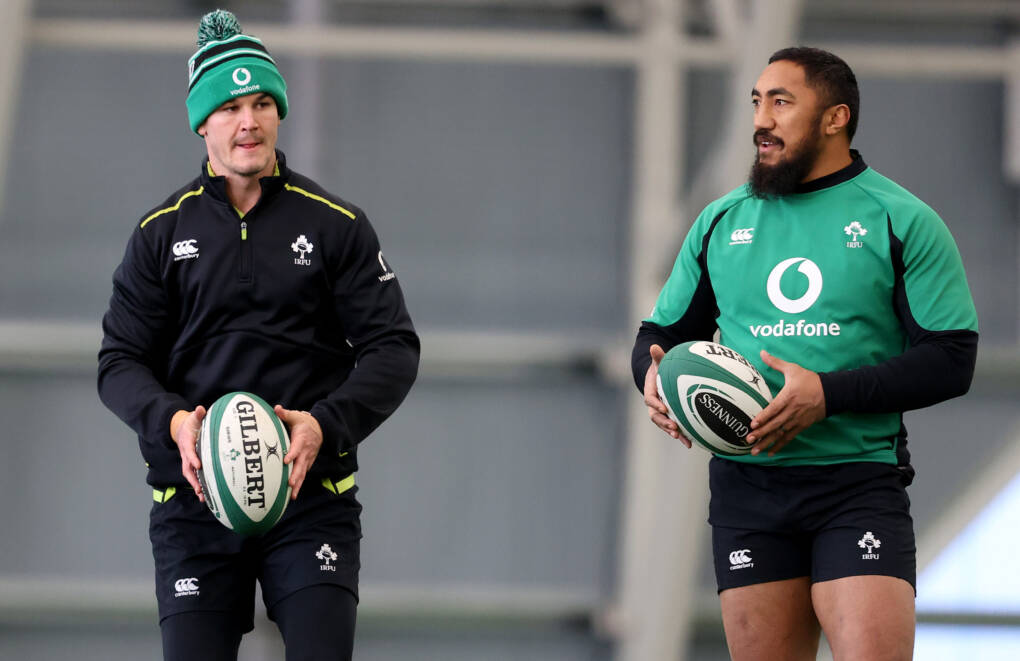 Ireland Prepare For Guinness Series Finale