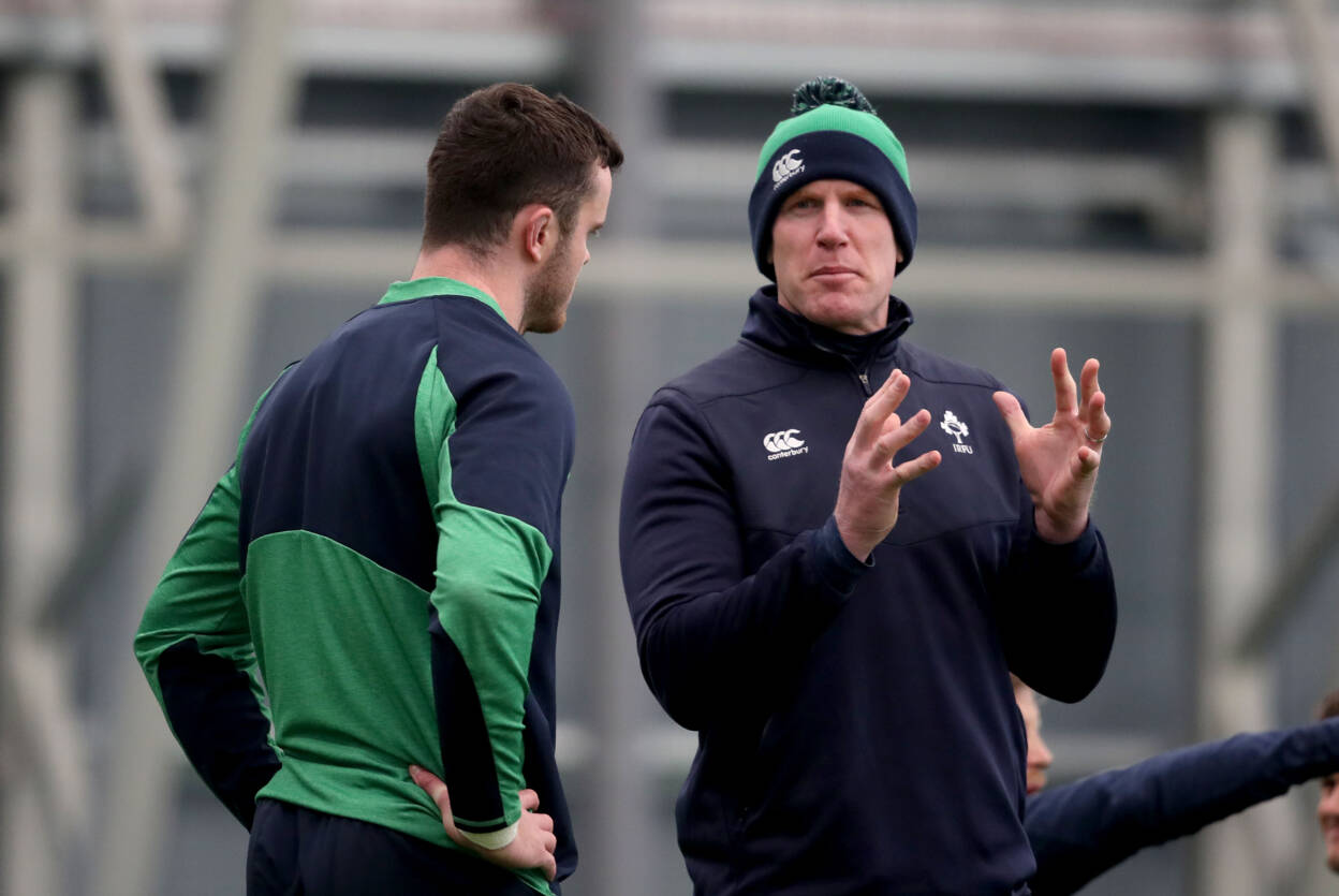 Paul O'Connell Joins Ireland Coaching Group