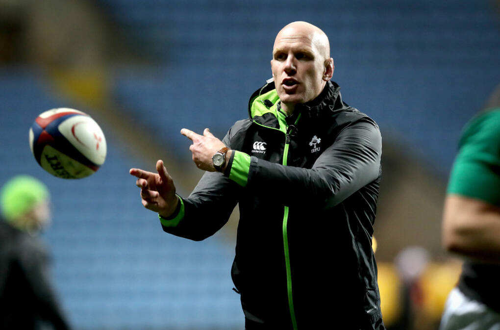 Paul O'Connell Appointed Ireland Forwards Coach