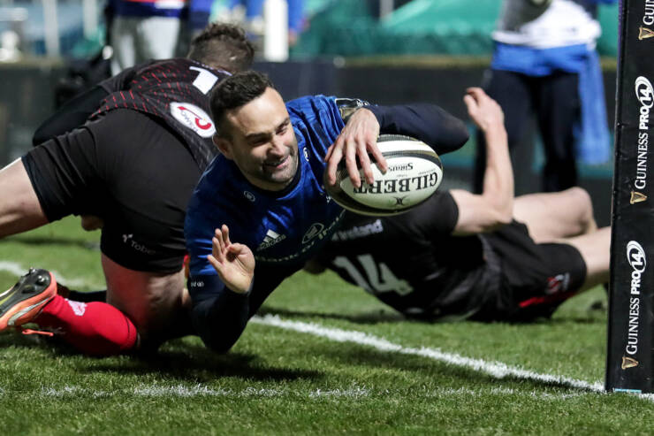 Bonus Point Reward For Leinster As Ulster Fall To First Defeat