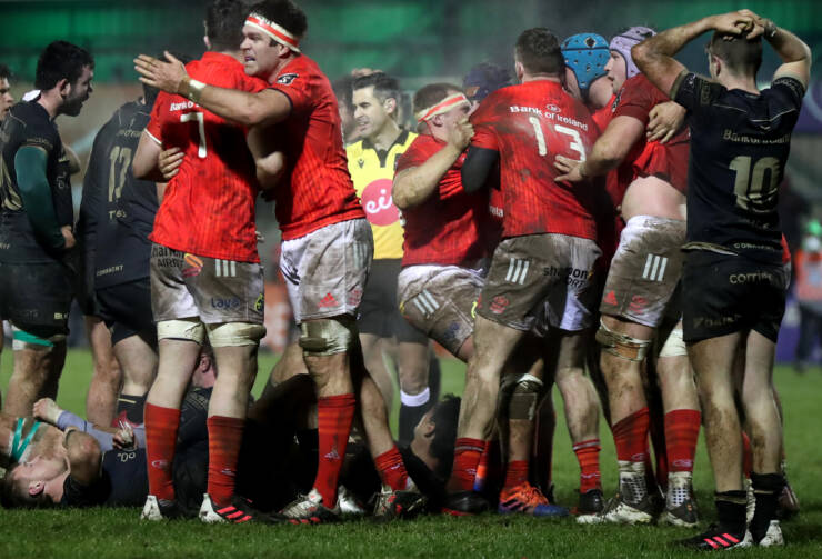 13-Man Munster Hold On In Thrilling Finale In Galway