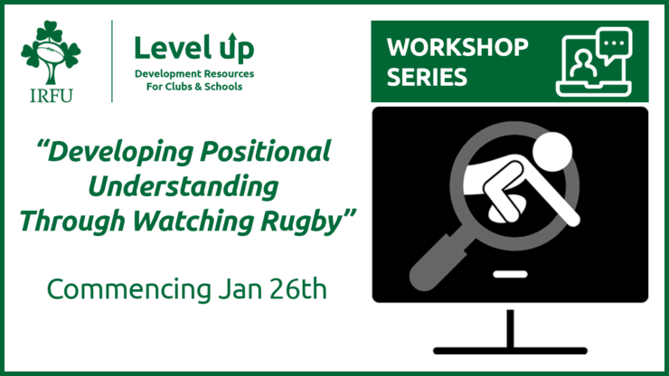 IRFU Announce Online Workshop Series For Players