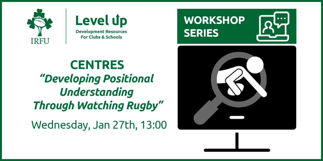 Centres: Level Up Player Workshop Line Up Confirmed